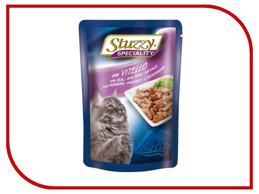 Корм Stuzzy Speciality Cat Телятина 100g для кошек 131.2506<br>