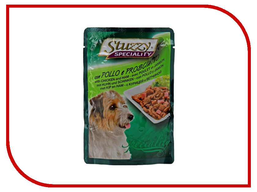 Корм Stuzzy Speciality Dog Курица и ветчина 100g для собак 131.2573