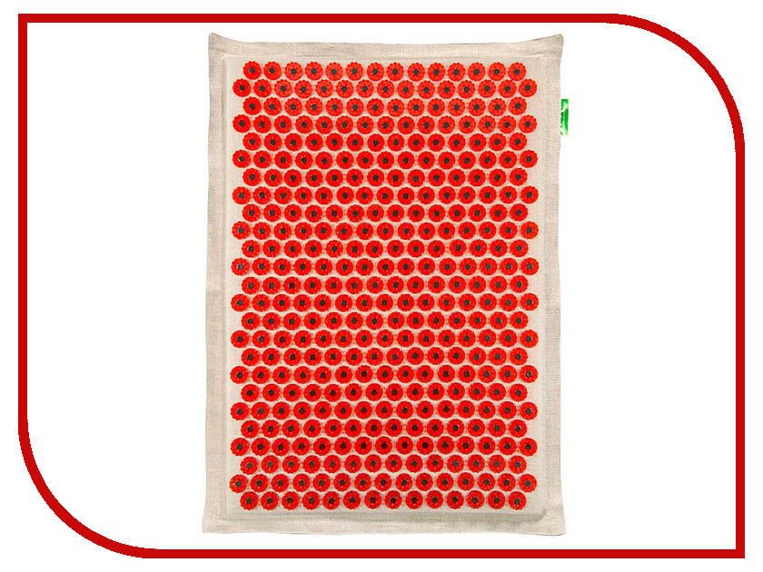 Аппликатор Тибетский аппликатор Кузнецова на мягкой подложке большой для чувствительной кожи магнитный Red