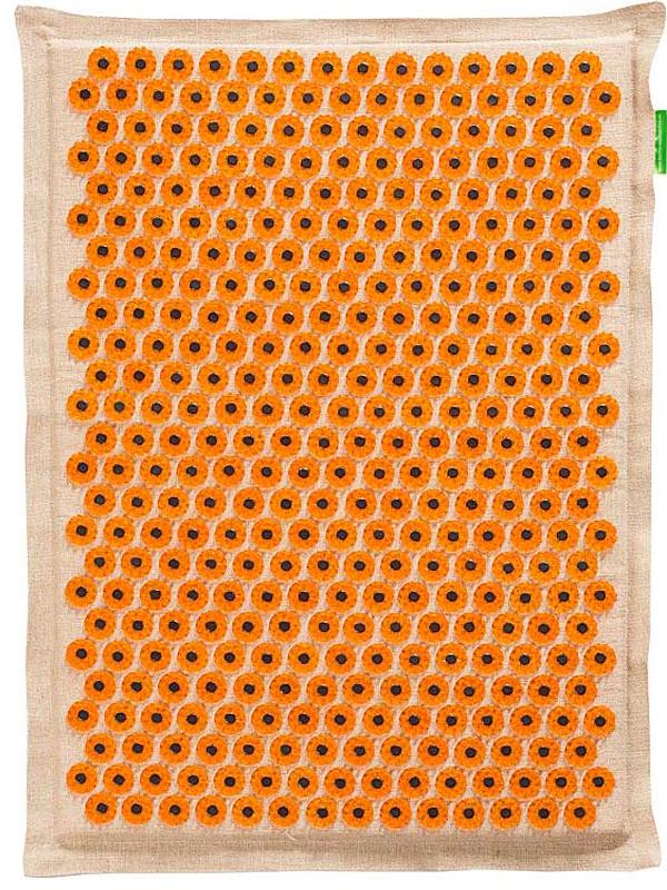 Аппликатор Тибетский аппликатор Кузнецова на мягкой подложке большой для интенсивного воздействия магнитный 41х60см Yellow