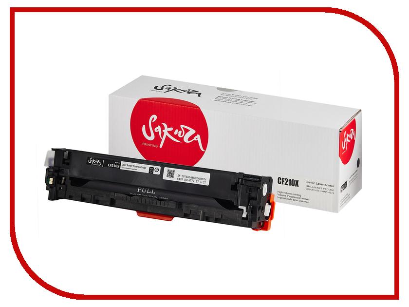 Картридж Sakura CF210X Black для HPLaserJet Pro 200 Color M251/275/27<br>