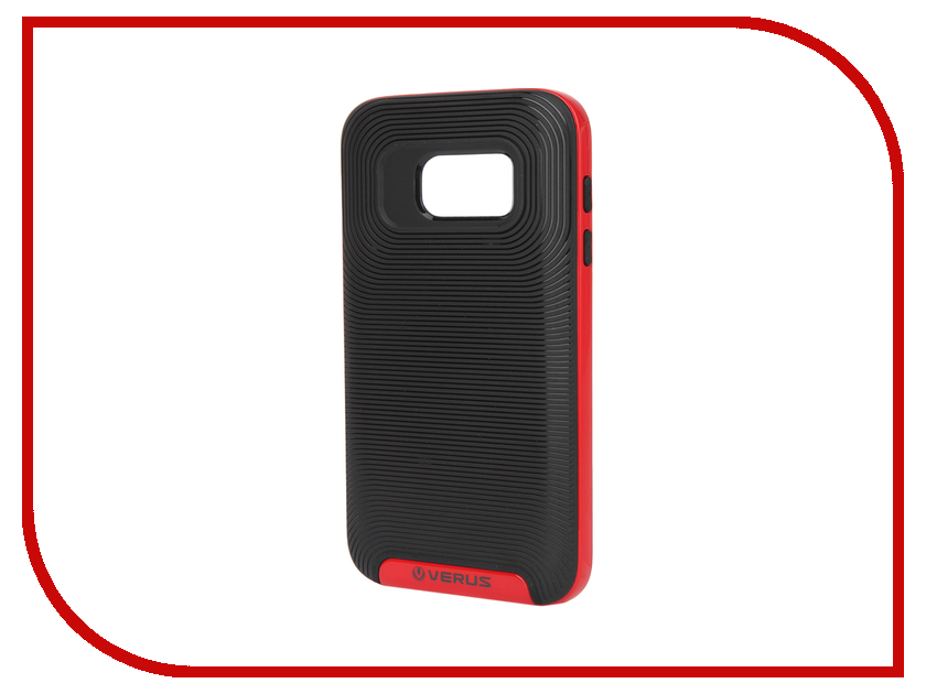 Аксессуар Чехол Samsung Galaxy S7 Verus Damda Red 59914