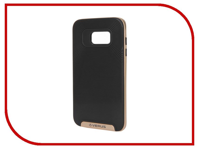 Аксессуар Чехол Samsung Galaxy S7 Edge Verus Damda Gold 59917<br>
