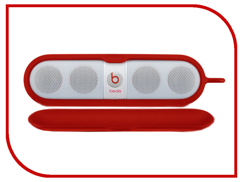 Аксессуар Beats Pill Sleeve Red MHDU2G/A