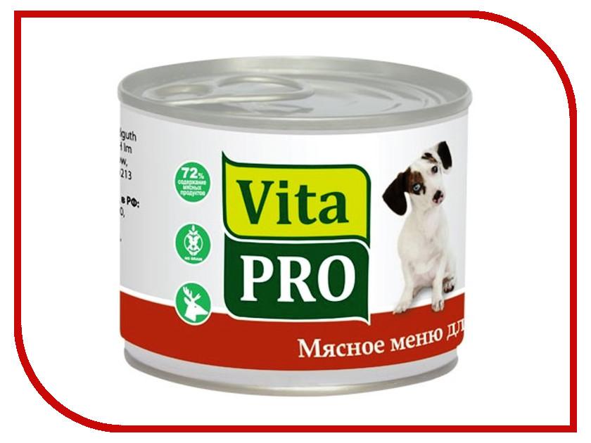 Корм VITA PRO Дичь 200g для собак 90009<br>