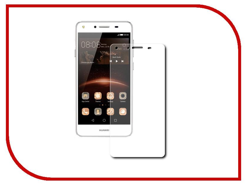 Аксессуар Защитная пленка Huawei Y5 II LuxCase суперпрозрачная 51659 смартфоны huawei y5 2017 grey