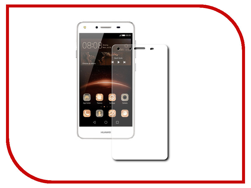 Аксессуар Защитная пленка Huawei Y5 II LuxCase суперпрозрачная 51659