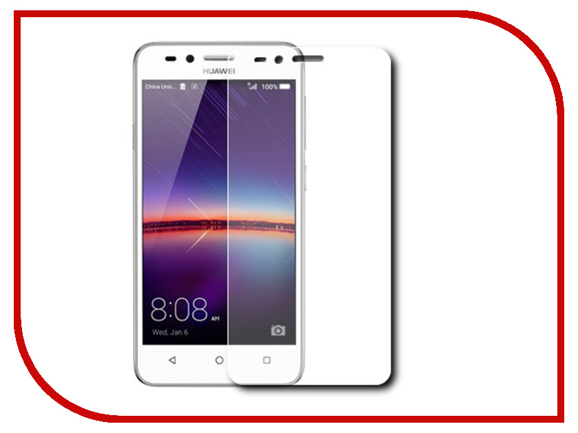 Аксессуар Защитная пленка Huawei Y3 II LuxCase антибликовая 51658
