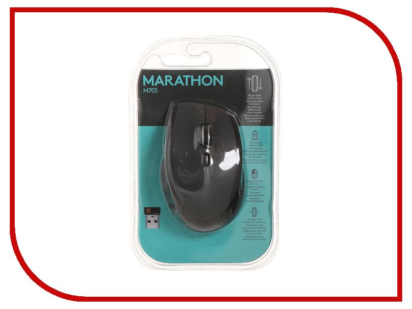 Мышь Logitech Marathon Mouse M705 Black USB цена
