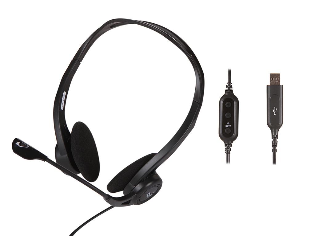 Наушники Компьютерная гарнитура Logitech PC Headset 960 USB