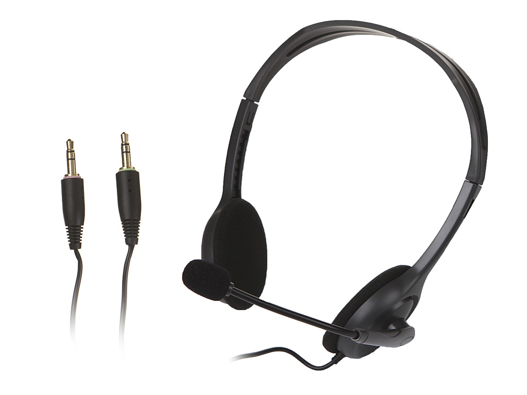 Logitech Stereo Headset H110 genuine logitech h110 stereo headset with microphone black 3 5mm jack 240cm cable