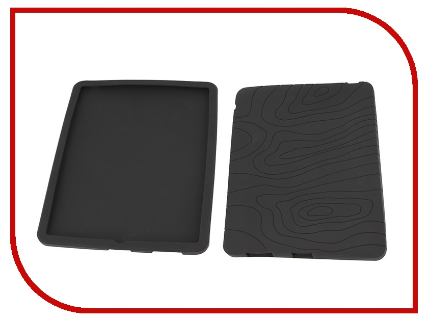 Аксессуар Чехол iPad DENN силиконовый DCA710N Black<br>
