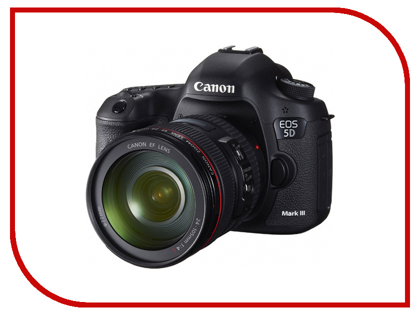 Фотоаппарат Canon EOS 5D Mark III Kit EF 24-105 L IS USM<br>