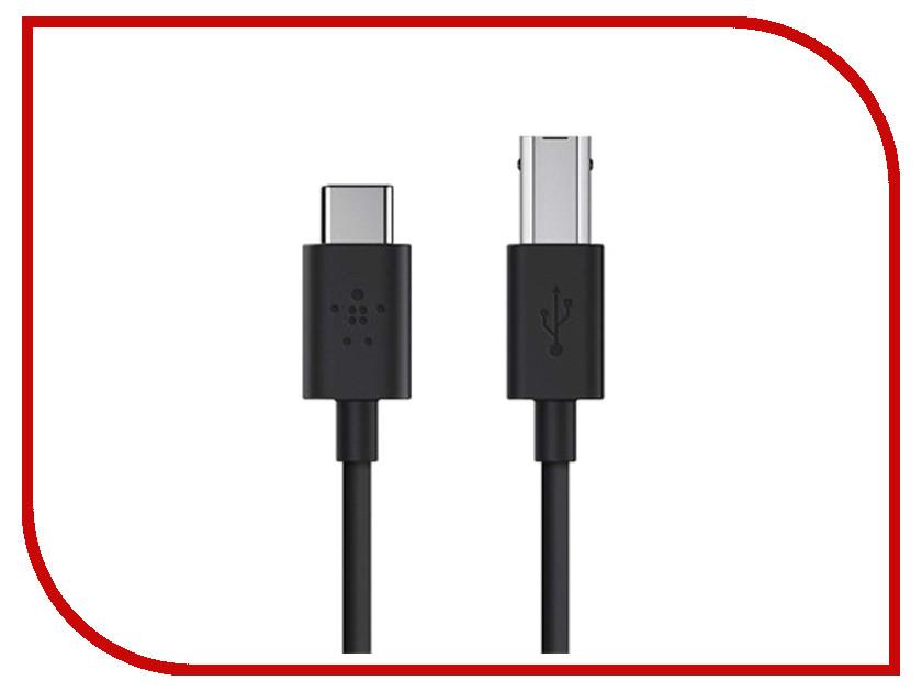 Аксессуар Belkin USB-C to USB-B Printer Cable Black F2CU035bt06-BLK