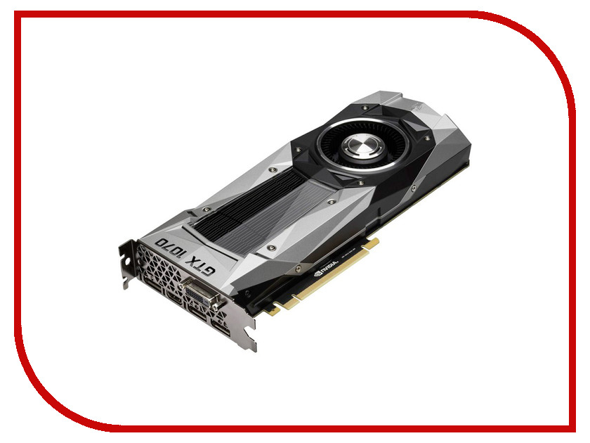 Видеокарта Gainward GeForce GTX 1070 1506Mhz PCI-E 3.0 8192Mb 8000Mhz 256 bit DVI HDMI HDCP<br>