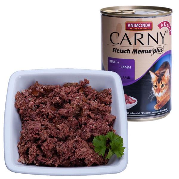 Корм Animonda Carny Adult Говядина/Ягнёнок 400g для кошек 83506/83721