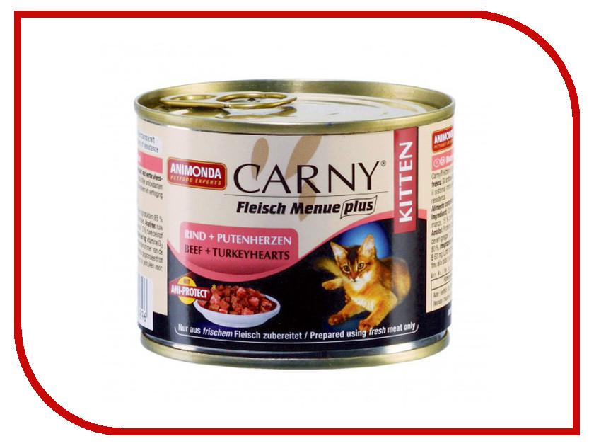 Корм Animonda Carny Kitten Говядина/Индейка 200g для кошек 83489