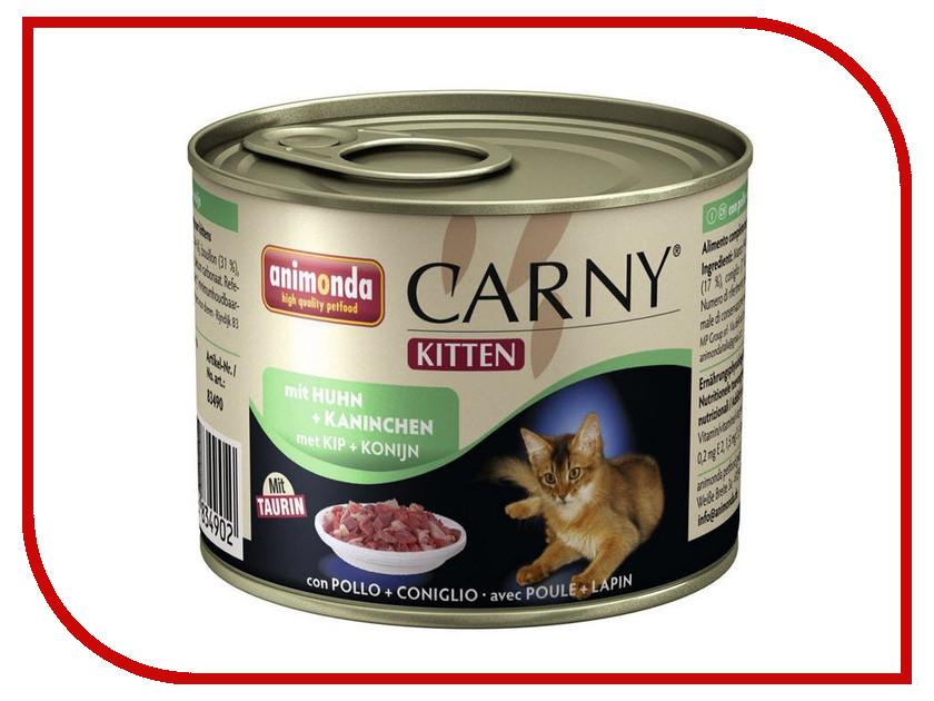 Корм Animonda Carny Kitten Курица/Кролик 200g для кошек 83490<br>