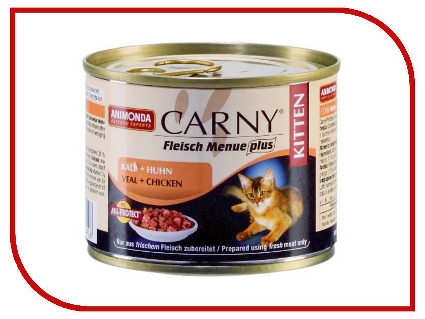 Корм Animonda Carny Kitten Телятина/Курица 200g для кошек 83492/83699<br>