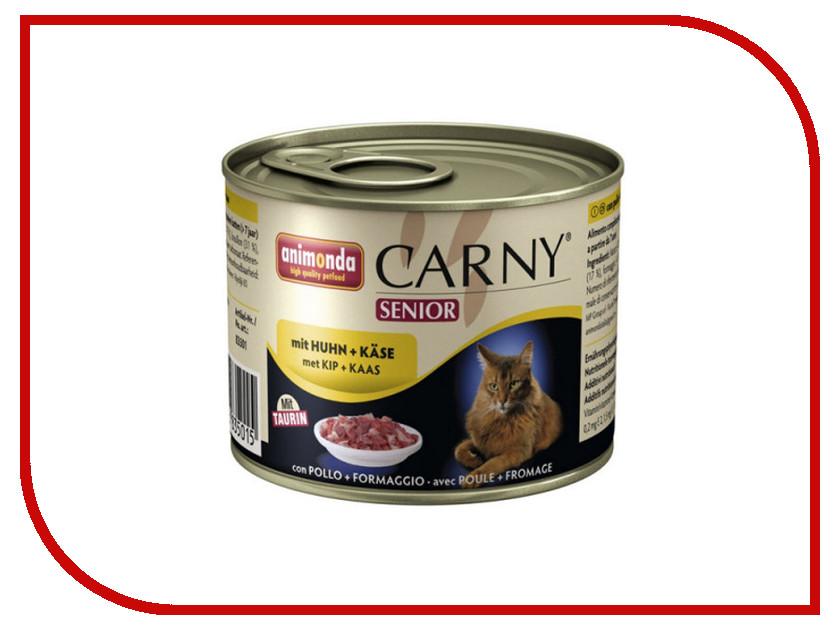 Корм Animonda Carny Senior Курица/Сыр 200g для кошек 83501/83710 плеер mp3 apple ipod touch 6 32gb gold mkht2