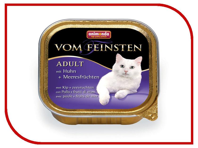 Корм Animonda Vom Feinsten Adult Курица/Морепродукты 100g для кошек 83853