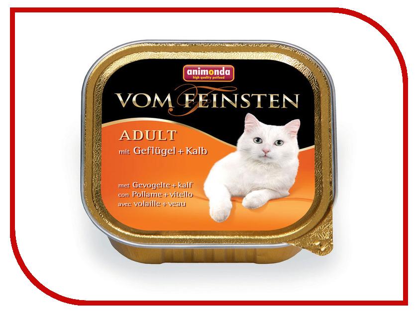 Корм Animonda Vom Feinsten Adult Птица/Телятина 100g для кошек 83437