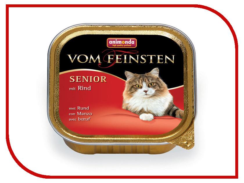 Корм Animonda Vom Feinsten Senior Говядина 100g для кошек 83857