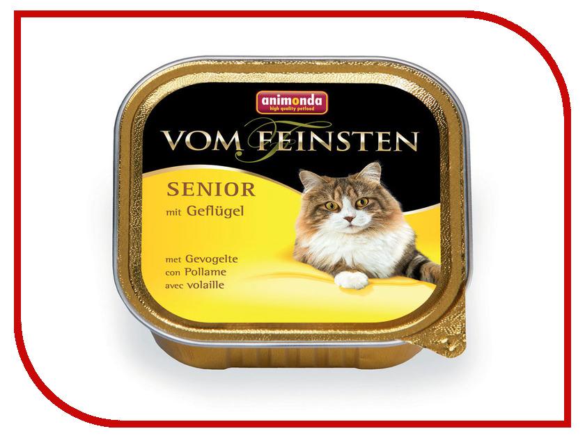 Корм Animonda Vom Feinsten Senior Птица 100g для кошек 83858