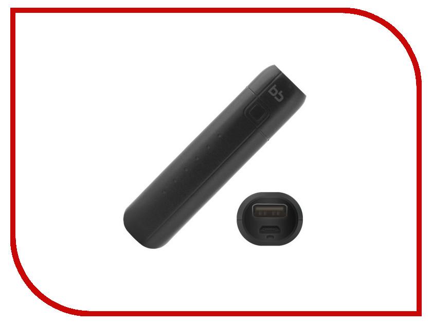 Аккумулятор BB USB 1.2A 2500 mAh 001-001 Black 09350