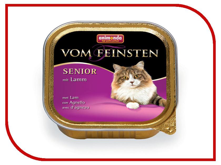 Корм Animonda Vom Feinsten Senior Ягненок 100g для кошек 83859