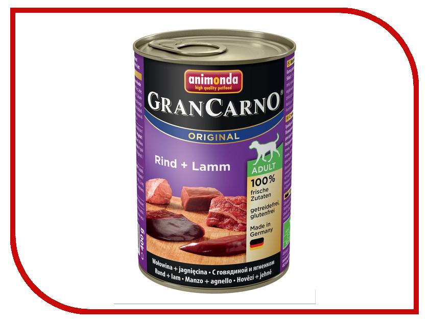 Корм Animonda Gran Carno Original Adult Говядина/Ягненок 400g для собак 001/82733<br>
