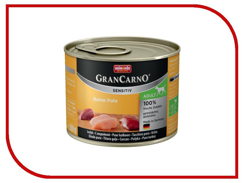 Корм Animonda Gran Carno Sensitiv Индейка 200g для собак 001/82406 люстра colosseo 82406 4c oscar