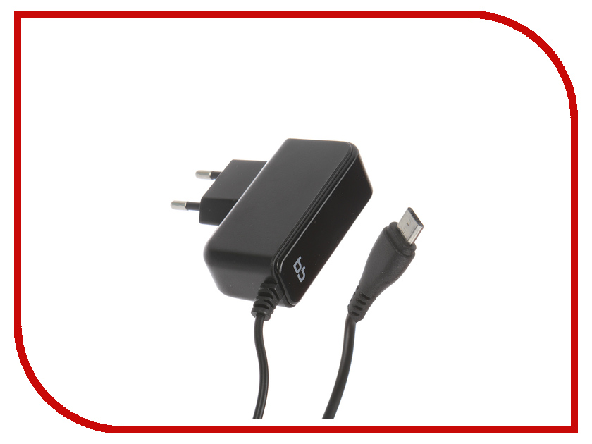 Зарядное устройство BB microUSB 2A 007-001 1.2m Black 09337 Сетевое<br>