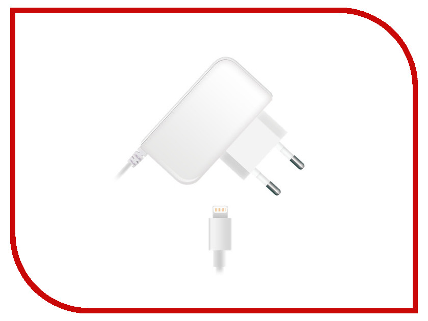 Зарядное устройство BB s8pin Lightning 2A 009-001 1.2m White 09339 Сетевое<br>