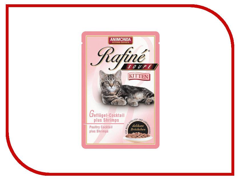 Корм Animonda Rafine Soupe Kitten Птица/Креветки 100g для котят 83651