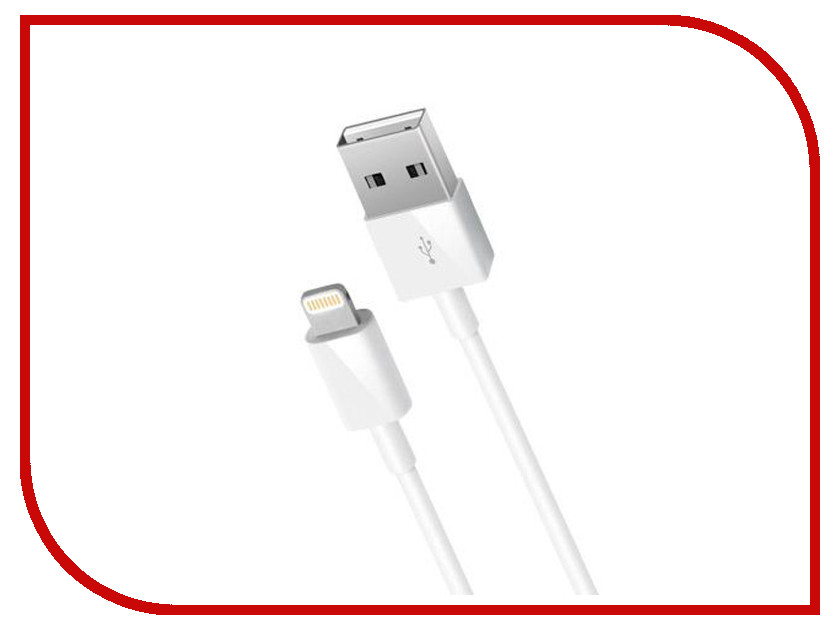 Аксессуар Nobby Comfort 011-001 USB-8pin Lightning 1.2m White 09346