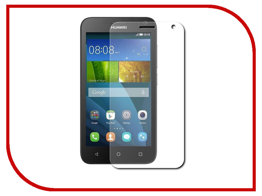Аксессуар Закаленное стекло Huawei Honor Y336 Y3C DF hwSteel-18<br>