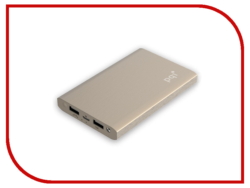Аккумулятор PQI i-Power 10000V Gold 6PPU-12IR0001A<br>