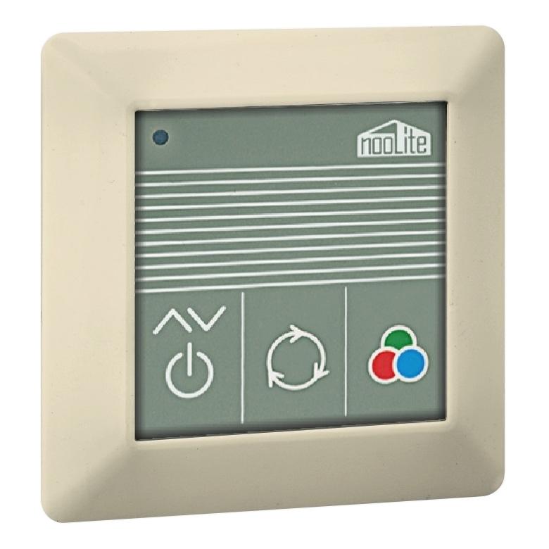 Пульт-радиопередатчик NooLite PU-112-2 Beige для RGB