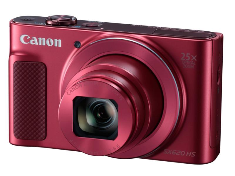 лучшая цена Фотоаппарат Canon PowerShot SX620 HS Red