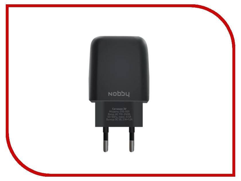 �������� ���������� Nobby Comfort 016-001 2xUSB 3.4A Black 09343
