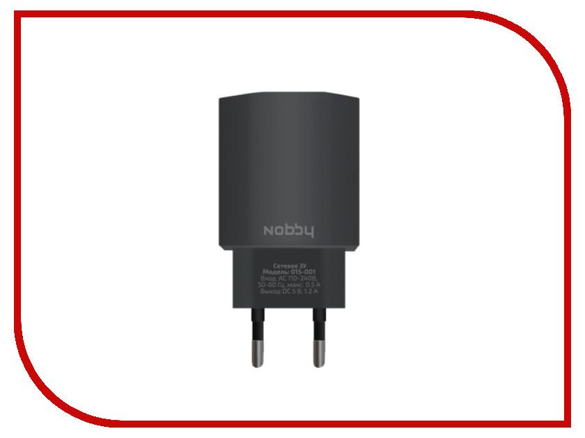 Зарядное устройство Nobby Comfort 015-001 USB 1.2А Black 09342