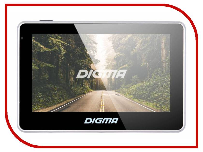 Навигатор Digma AllDrive 400 Black планшет digma plane 1601 3g ps1060mg black