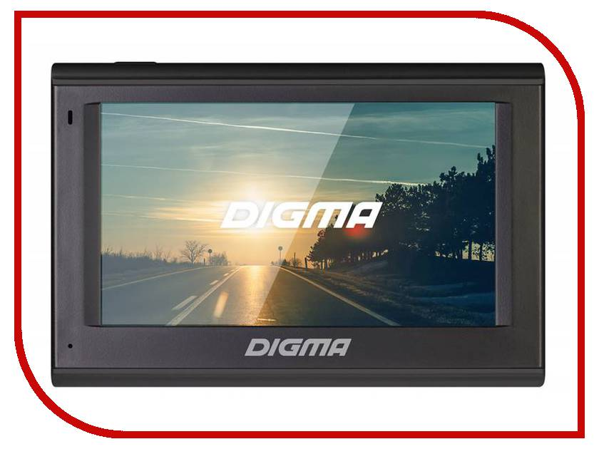 Навигатор Digma AllDrive 401 Black планшет digma plane 1601 3g ps1060mg black