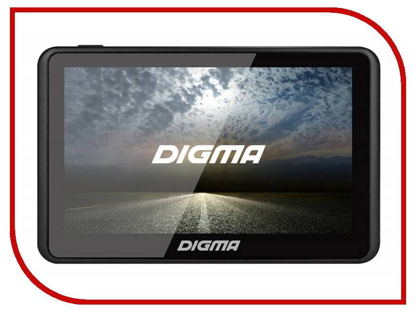 Навигатор Digma AllDrive 501 Black планшет digma plane 1601 3g ps1060mg black