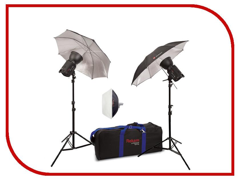 Комплект студийного света Rekam HaloSuper-1K UB & SB Kit 7