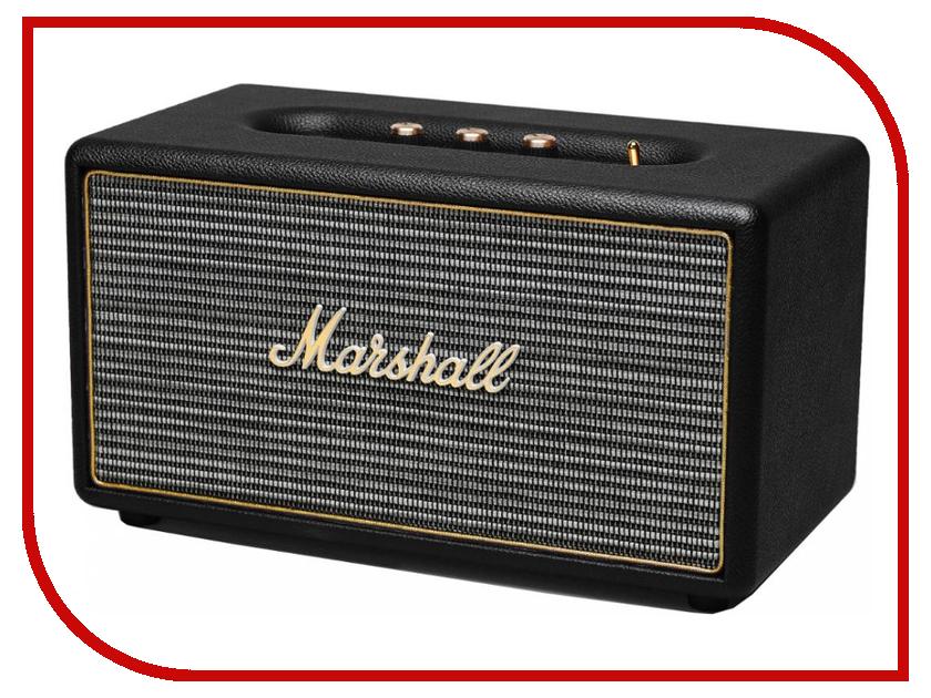 Колонка Marshall Stanmore Bluetooth Black гарнитура marshall mid bluetooth