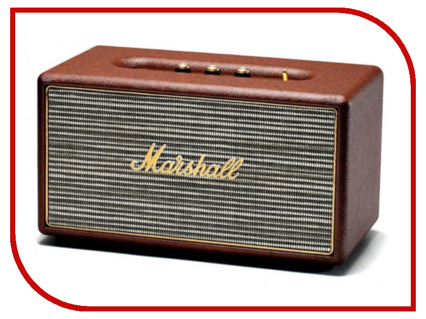 Колонка Marshall Stanmore Bluetooth Brown гарнитура marshall mid bluetooth