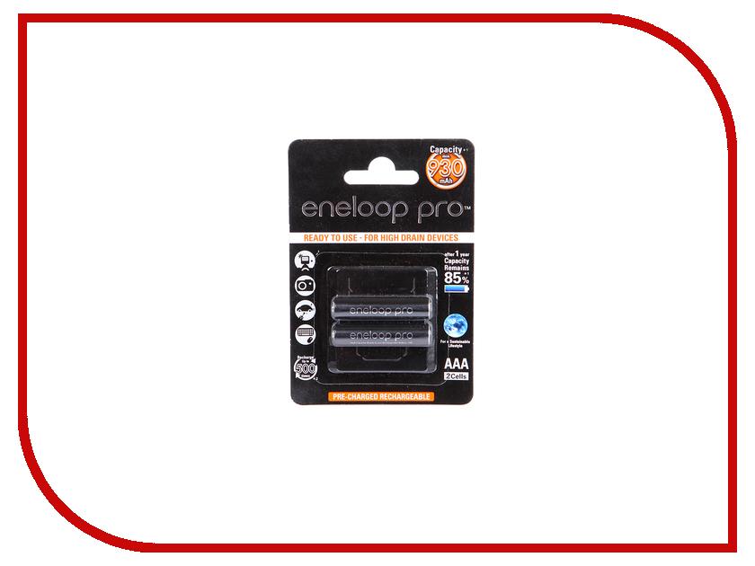Аккумулятор AAA - Panasonic Eneloop 930 mAh (2 штуки) BK-4HCDE/2BE<br>