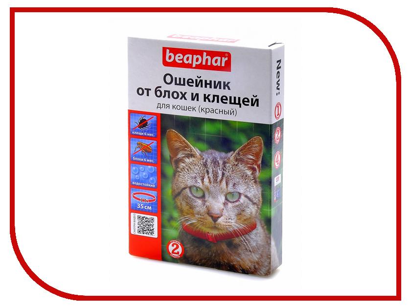 Ошейник Beaphar Diaz 35см Red 12618 для кошек